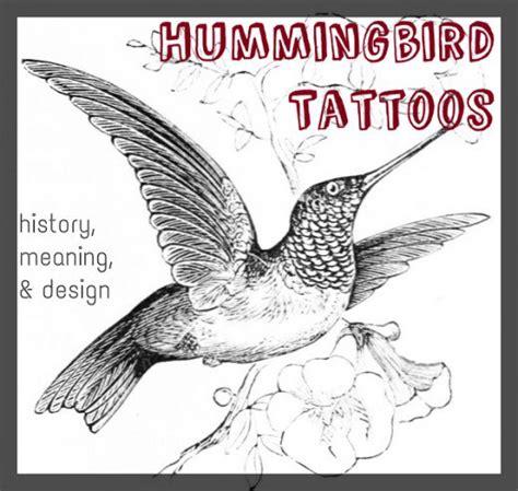 hummingbird tattoo symbolism hummingbird tattoos meanings designs history and photos