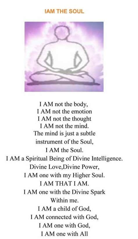 soul affirmation  images healing affirmations