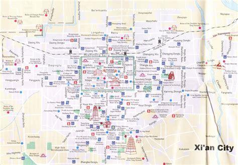 xian  map china chengdu tours chengdu panda