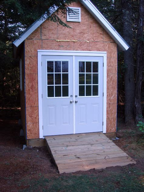 build shed r uneven ground images