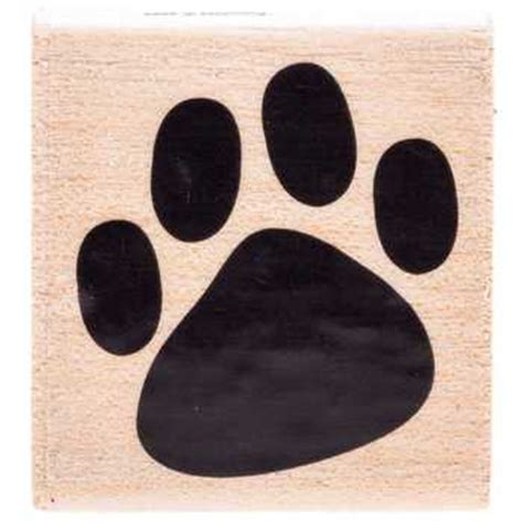 Solid Paw Print Rubber St Hobby Lobby 383141