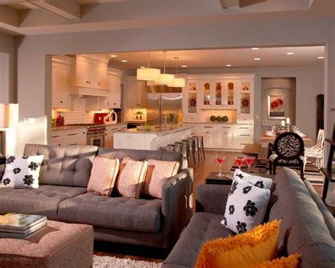large open floor plan white living room traditional decor pin by mollie halko on open floor plan pinterest