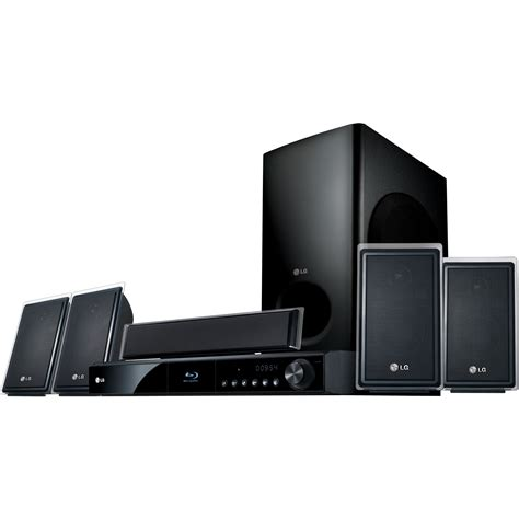 lg 5 1 channel surround network disc home theater