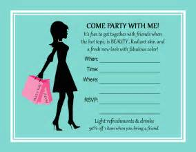 shopping invitation wording vertabox