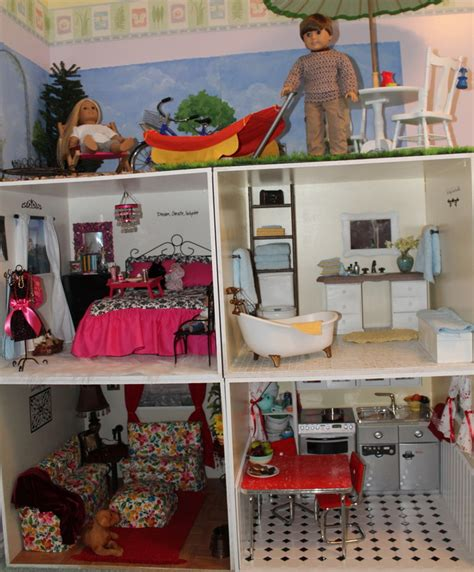 how to make an 18 inch doll house my doll house
