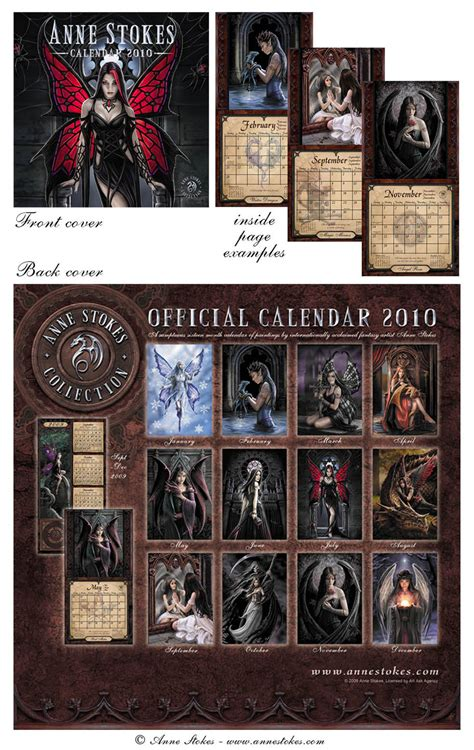 libro anne stokes calendar 2017 products by ironshod on