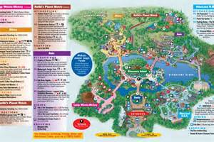 Printable Disney World Maps by Walt Disney World Map Images Amp Pictures Becuo