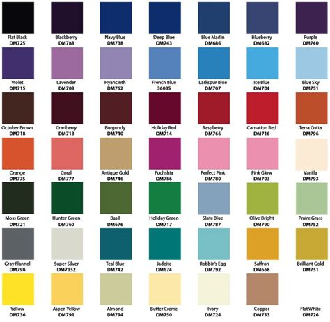spray paint color chart oddjobs enamel spray paint colour chart perth western australia