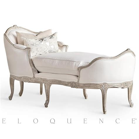 silver chaise eloquence marie antoinette chaise in silver antique white