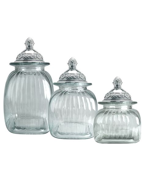 clear glass kitchen canister sets 23 best santa cecilia granite images on pinterest white