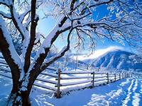 Beautiful Snow Covered Mountain
