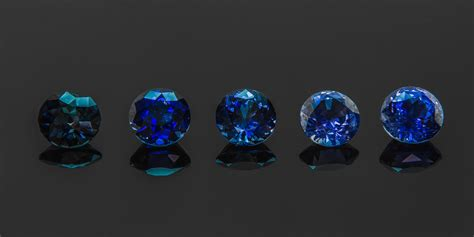 sapphire color what makes sapphires so blue 171 green lake jewelry works