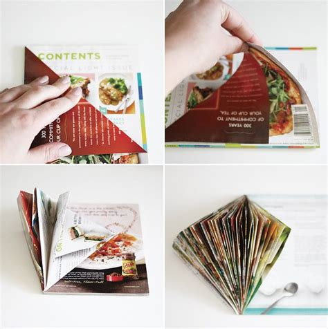 How To Make Paper From Magazines - 1000 ideas about magazine crafts on