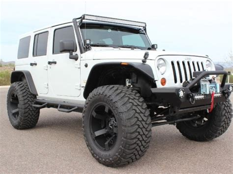 Jeep Wrangler Unlimited Lifted For Sale Lifted Jeep Wrangler Unlimited Arizona Mitula Cars