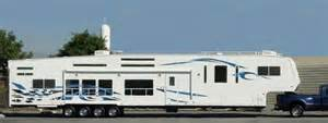This is one long 5th wheel wow now thats a home away fr home my