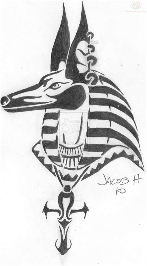 egyptian tribal tattoos 30 anubis tattoos design and picture ideas