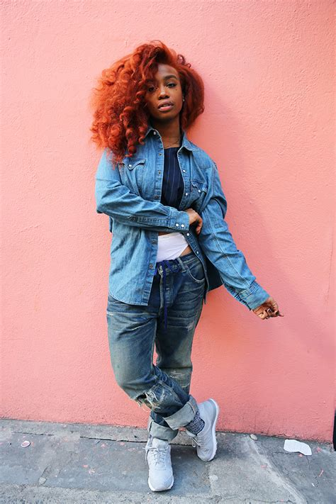 Orange Spice Color by Steal Her Style Sza Her Campus