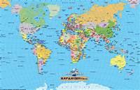 Etiquetas Mapa  Del Mundo Mapamundi Politico