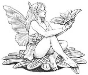 Easy Pencil Drawings Of Fairies » Home Design 2017