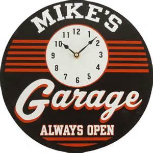 garage clock the pub shoppe
