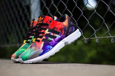 colorful addidas shoes adidas shoes adidas zx flux colorful wheretoget