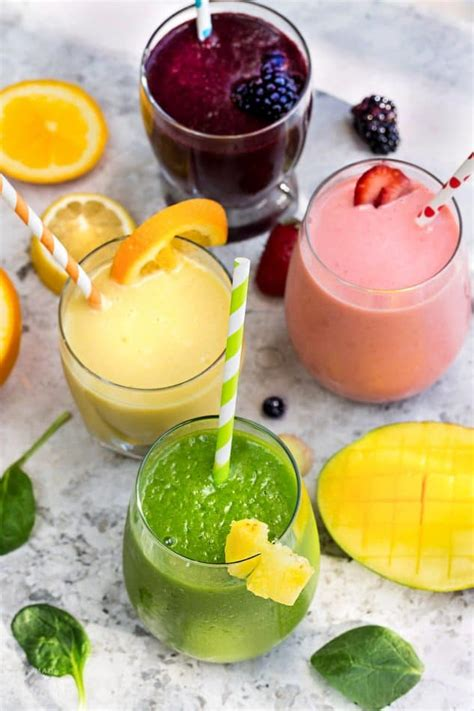 Detox Easy Smoothies by 5 Healthy Delicious Detox Smoothies Made