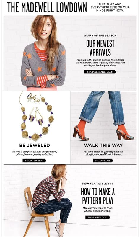 1000 images about fashion email newsletters on newsletter design email design and 1000 images about email design on madewell email design and newsletter design