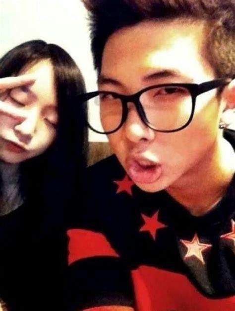 namjoon kim sister rap monster s sister kim namjoon rapmonster pinterest