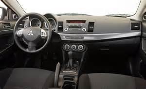 2010 Mitsubishi Lancer Interior Car And Driver