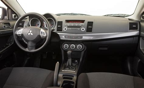 2008 Mitsubishi Lancer Interior by Car And Driver