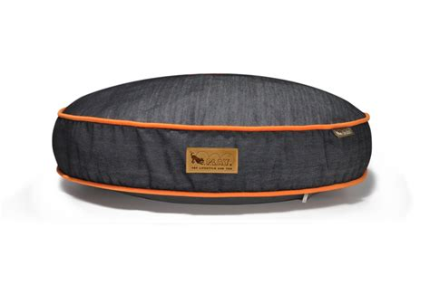 denim dog bed urban denim round dog bed play care 4 dogs on the go