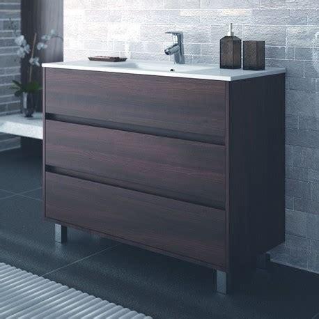 mobili bagno da terra mobile bagno arredo bagno 100 cm a terra con lavabo