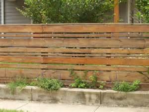 Horizontal Wood Fence Design Horizontal Wood Slat Fence Garden And Outside Stuff Traditional Fence Design