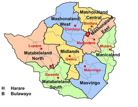 provinces  zimbabwe wikipedia