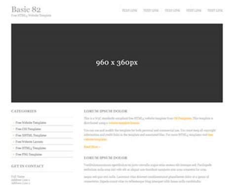 basic 82 free html5 template html5 templates os templates