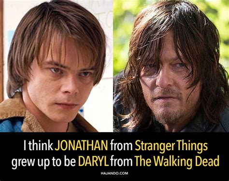 Winona And Daryl At Some Thing by I M Pretty Sure Jonathan From Things Grew Up To