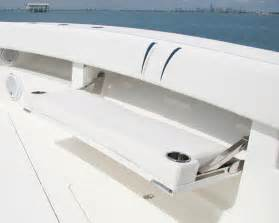 Helm Bench Seat Center Consoles 370z Details Seavee Boats