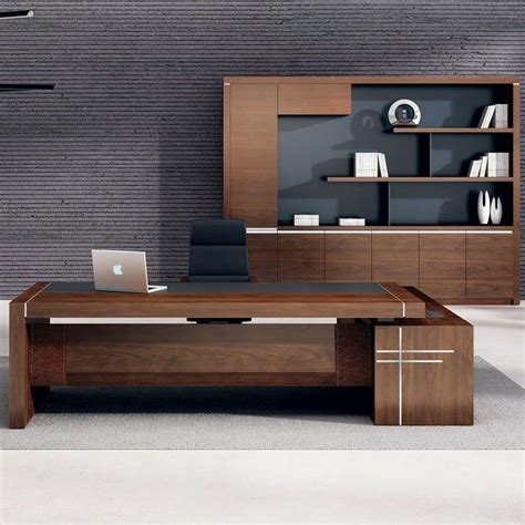 2017 hot sale luxury executive office desk wooden office