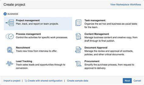 Jira Admins 5 New Business Templates That Make Onboarding Easier Atlassian Blog Jira Project Management Template