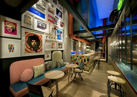 retro interior design cafe re cafe and dining bar by minas kosmidis thessaloniki