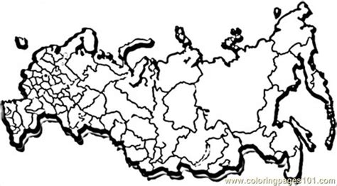 coloring page map of russia free coloring pages of russia flag color