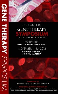 11th annual barnabas health cardiovascular symposium annual gene therapy symposia for heart lung and blood
