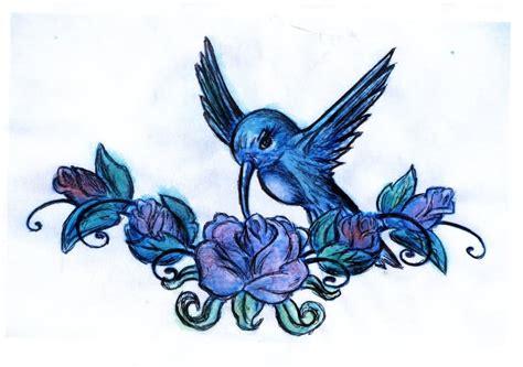 hummingbird rose tattoo hummingbird images designs