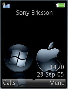 apple themes download for mobile download apple theme sony ericsson theme mobile toones
