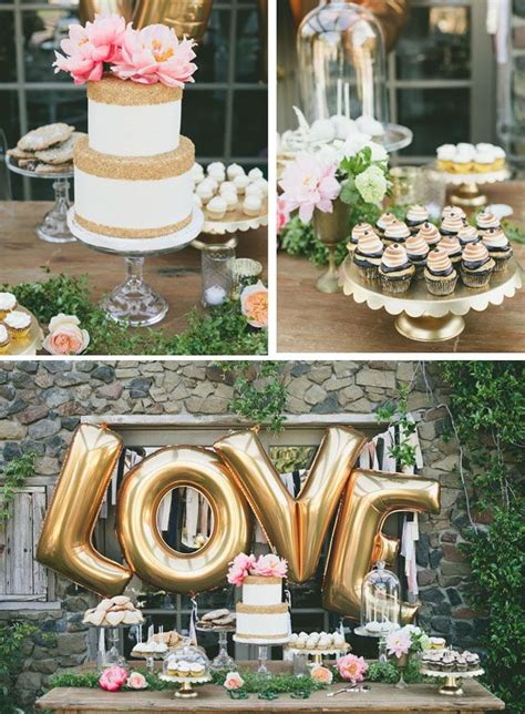 gold love themes 90 best images about bridal shower ideas on pinterest