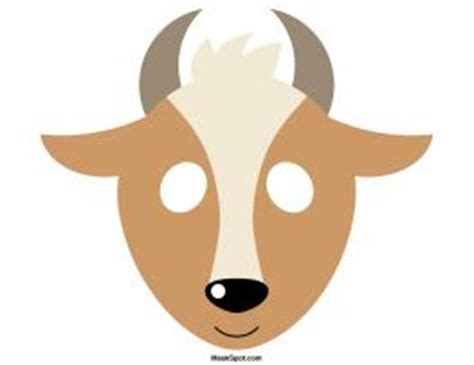 printable antelope mask template 17 best images about papa school coloring the o jays