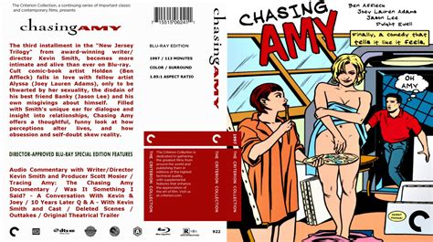 chaising amy chasing amy movie blu ray custom covers chasing amy