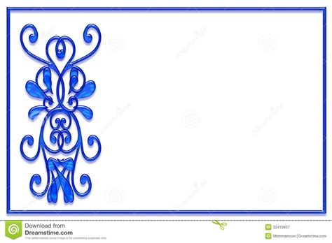 and white card template blue and white card template stock illustration image