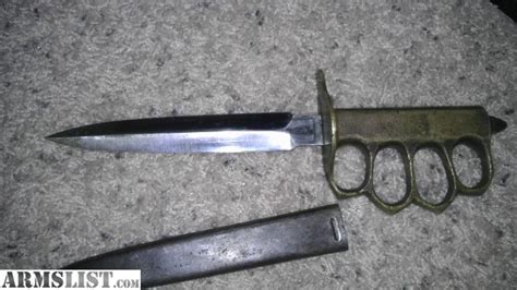 world war 1 trench knife for sale armslist for sale trade world war 1 mk1 au trench