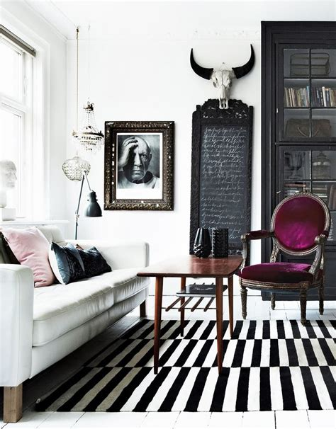 top 17 black white striped home design easy